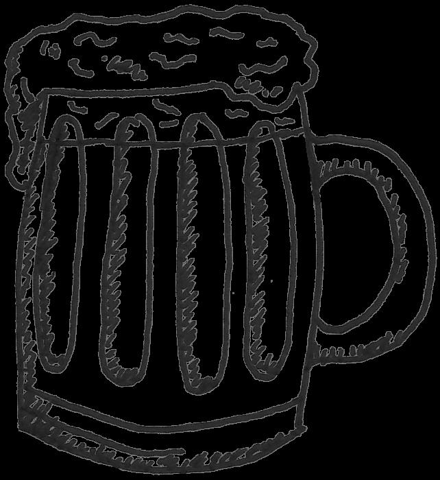 Post work beers sketch